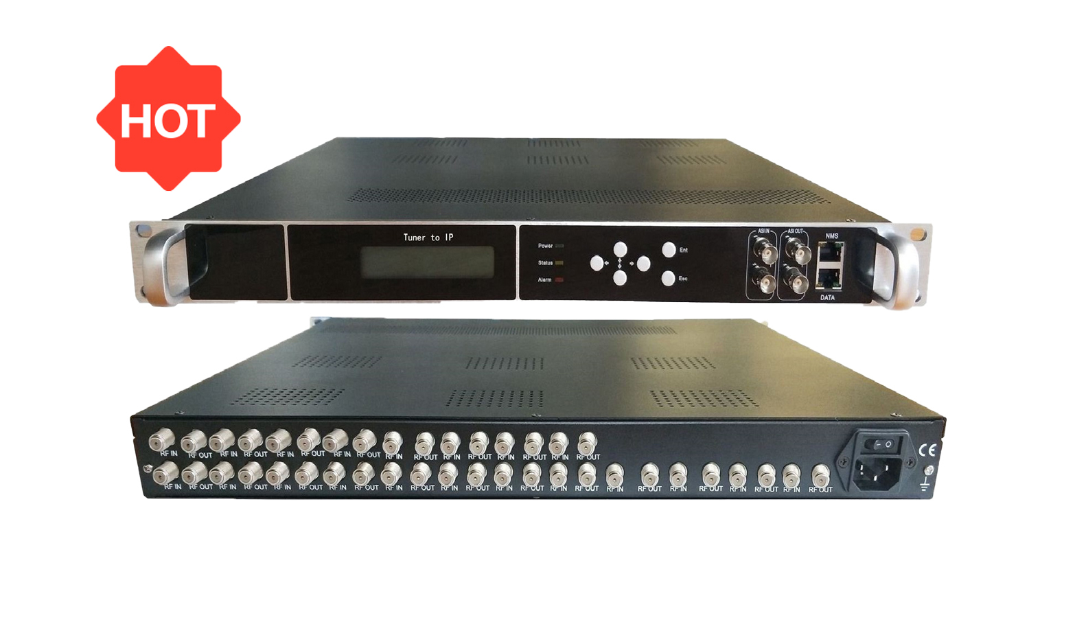 DVB-T2 to IP Receiver Gateway